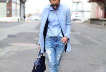 Fashion: Blue Winter Coats