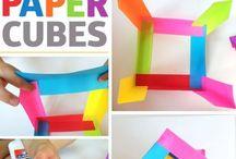 Paper cubes