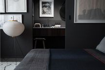 Grey and black interior design, my favorite colors
