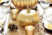 THANKSGIVING PARTY & GREAT FALL DECORATIONS