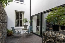 Contemporary 'glass' side extension / Modern side extension | glass roof | internal refurbishment | industrial finish | Brighton, East Sussex | home renovation |