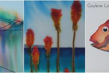 Art / NZ Artist. Original art on silk. For work available for purchase go here: https://www.facebook.com/media/set/?set=a.871118089629226.1073741830.871069799634