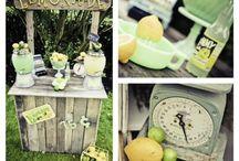 PARTY THEME - Lemonade
