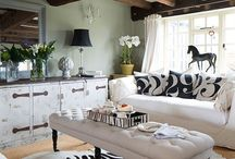 Go Wild with Animal Prints / Take a walk on the wild side and learn how to decorate with Animal Prints