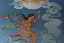 Thanka paintings