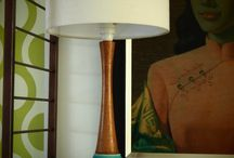 Mid Century Modern Lamps / Lighting up your home with a mid century flair.