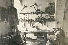 Alte Holzwerkstatt
