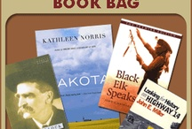 South Dakota Book Bag / With funding from the South Dakota Humanities Council, three South Dakota State University professors and John Miller, Professor of History emeritus, SDSU, wrote twenty-one study guides for books by South Dakota authors or with a South Dakota theme to be used with the book bags. Each study guide is three or four pages long and includes a summary of the book, questions for discussion, and a brief biography of the author.
