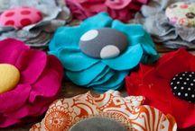 πανινα λουλουδια καρφιτσες