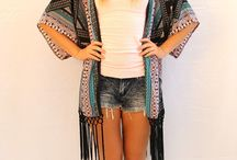 Fashion Kimono`s Collection 2015 / Remember ladies no rules with these pieces they can we worn with anything!!!!