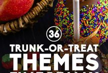 trunk o treat ideas