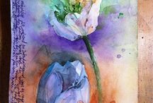 Watercolor... / by Kim Wells