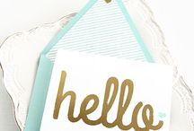 Love letters / Stationary ideas
