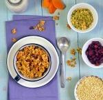 Granola with Fruit & Veggie Purees