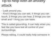 Anxiety things