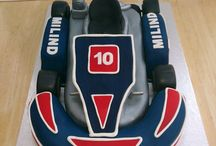 Go Kart Cakes