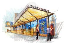 EU @ EXPO 2015 / EU Pavilion #Expo2015 #Milan #WorldsFair