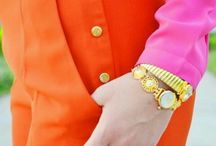 Style Orange and pink