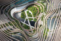 Zelené ekologické budovy