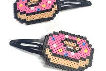 Hama Beads - Fermacapelli