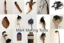 Mark making tools