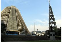 catedral formato de tronco de cone
