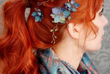 My future Red Ginger Hair project - inspiration / Kommer dagen hvor Char går Ginger amok igen