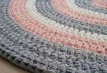 tapetes de crochê