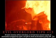 Evil overlord tips