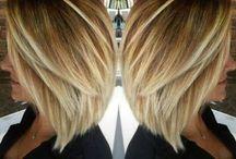 malowane włosy