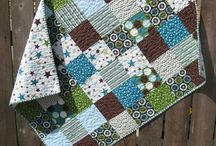 Quilt Love / Josie and Geoff's favorite quilt ideas. We like contrasts of light (white/cream, etc) and darker colors (greens, blues, browns for colors...some or all!)