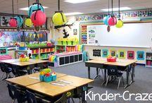 Classrooms / Room arrangements and decorations