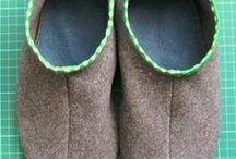 upcyled slippers