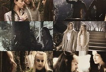 The hobbit and Lord of the rings scenes