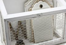 Chicken wire projects