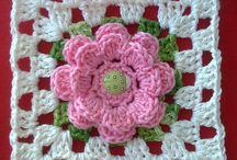 crochê de flor