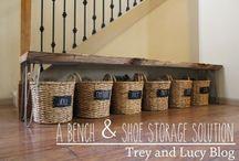 Storage shoes
