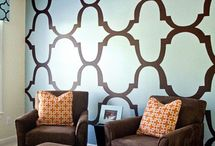 Wall room colour finishes