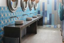 Bathrooms - Beach Hotel Newcastle by Tim Neve / Stylist Tim Neve designed these nautical-inspired bathroom interiors for the Beaches Hotel, Merewether - now open.