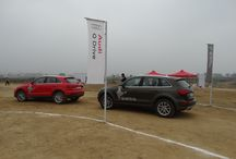 Audi Q Drive 2014 / Rough terrain Driving Experience with the Audi Q Range on existing regular territory