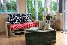 Pallets/ DIY meubles en palettes