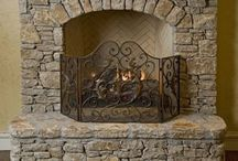 Fireplaces ~ Fireplace Screens & Tools