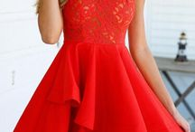 Red dress valentinesball
