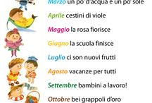 Italian Months of the year verse