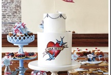 pinup - rockabilly cake