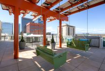 """Denver Vacation Rentals by Stay Alfred / Stay Alfred manages the best corporate housing and vacation rental property in the downtown Denver, Colorado, market. With first class positions in the heart of downtown and on beautiful Riverfront Park, Stay Alfred guarantees our guests the perfect headquarters from which to enjoy their visit to """"The Mile-High City."""""""