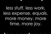 Simple but abundant life quotes
