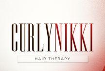 Curly hair / Treatment for curly hair.