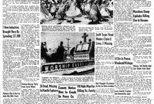 Historic Newspapers / The Lebanon Daily News is celebrating 140 years in Lebanon County, Pennsylvania. These are some of the historic front pages that appear at www.ldnews.com and in our legacy edition. Enjoy! / by Lebanon Daily News = newspaper photography
