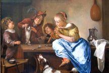 Schilderijen met kooikerhondjes